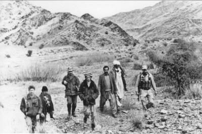 В горах Афганистана. Из личного архива Генерал Овсеенко М.Я.