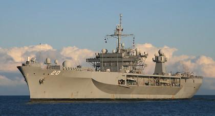 USS Mount Whitney (LCC/JCC 20) — командный корабль типа «Блю Ридж», флагманский корабль 6-го флота США
