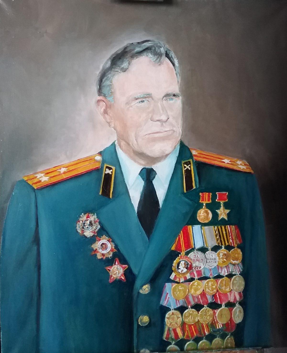 Выставка Анисимова: Портрет героя.  Пузанов Иван Терентьевич