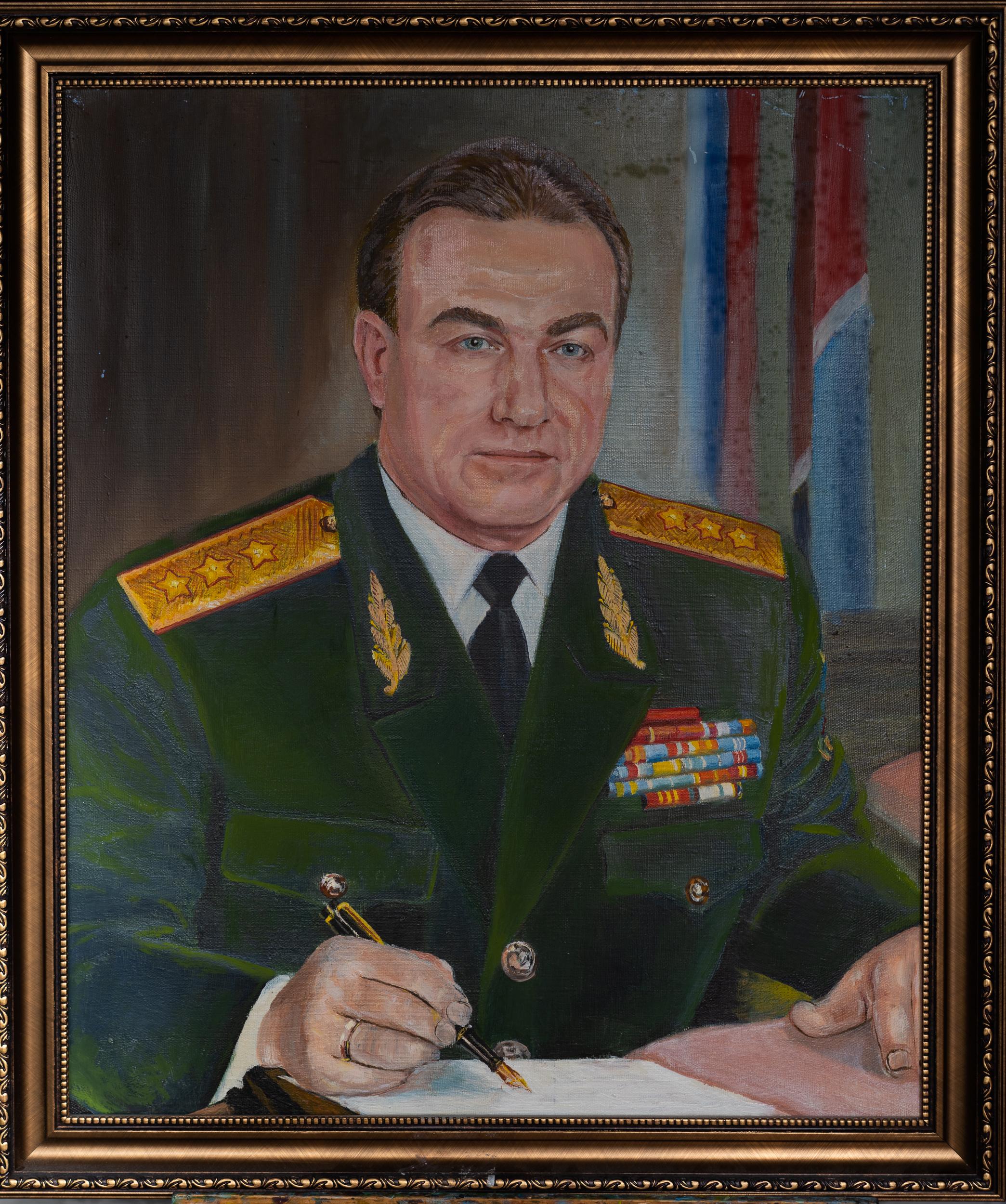 Выставка Анисимова: Портрет брата Владимира