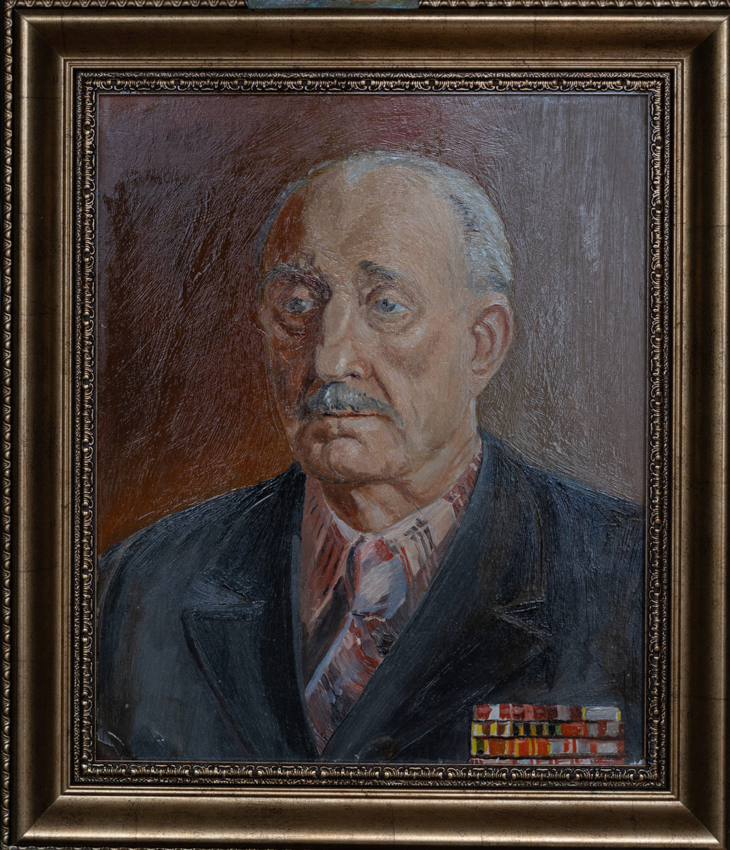 Выставка Анисимова: портрет ветерана ВОВ Хилик И.А.